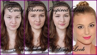 Get the Look:  Emily Thorne / VanCamp Inspired - No Makeup Makeup Look Tutorial Thumbnail