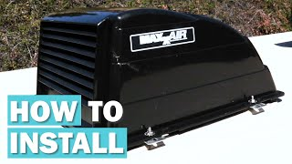 MaxxAir Vent Cover Installation | How to Install MaxxAir Vent Cover