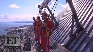 CN Tower EdgeWalk With Cary Elwes And Dacre Montgomery