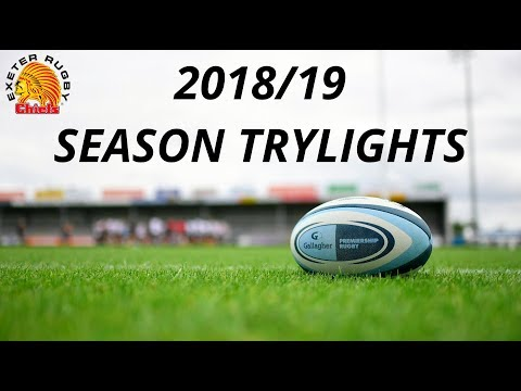 2018/19 Exeter Chiefs Season Trylights