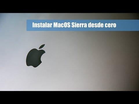 Cómo Instalar MacOS Sierra Desde Cero [instalación Limpia]