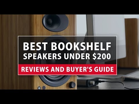 Best Bookshelf Speakers Under 200 Reviews And Buyer S Guide
