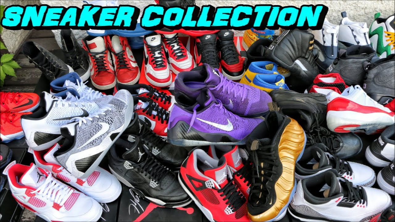 a6efaaa49697e MY ENTIRE SNEAKER COLLECTION - YouTube