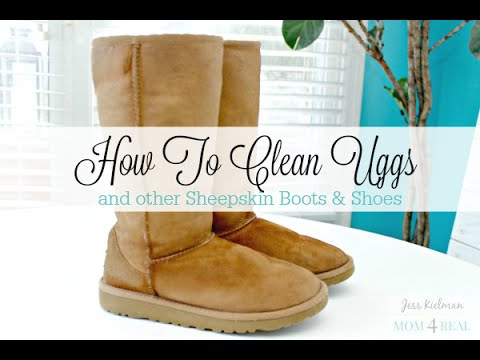 6891f4fe814 How To Clean Uggs or Sheepskin Boots At Home