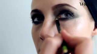 Как сделать макияж smokey eyes/смоки айс: видеоурок