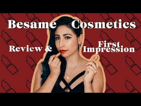 Besame Cosmetics Review & First Impression | Design by Brianna