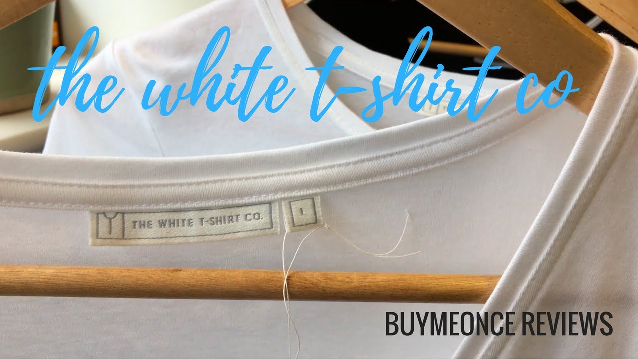 The white t shirt co buymeonce reviews youtube for T shirt company reviews