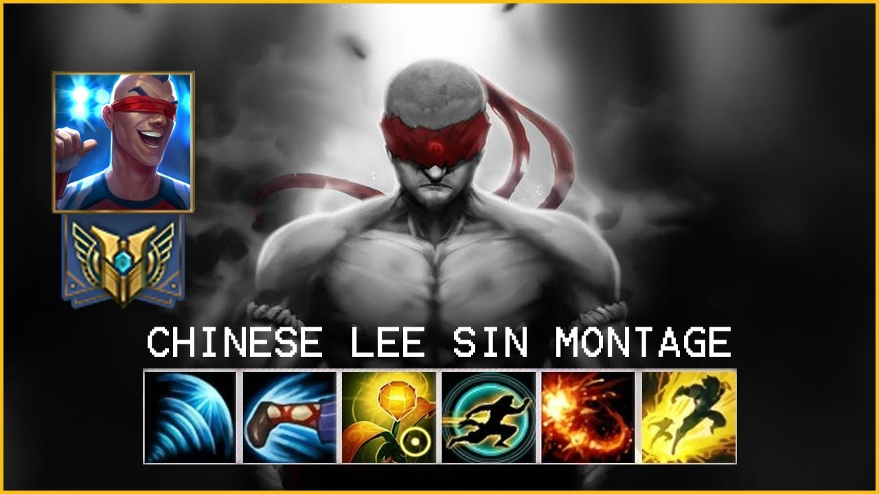 ULTIMATE CHINESE LEE SIN MONTAGE - League of Legends