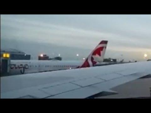 AIR CANADA ROUGE Flight Vegas - Toronto