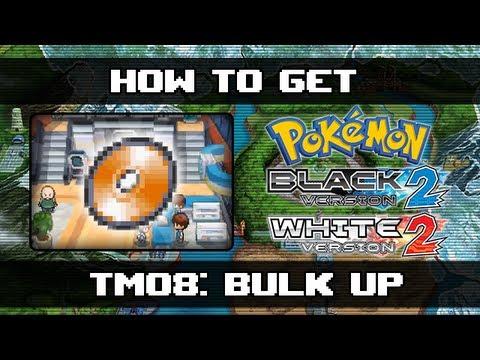 Pokemon Black 2 And White 2   How To Get Bulk Up (TM08)