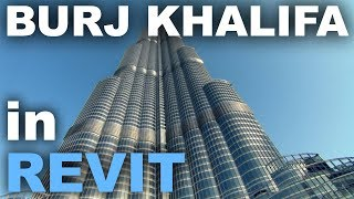 Burj Khalifa in Revit Tutorial