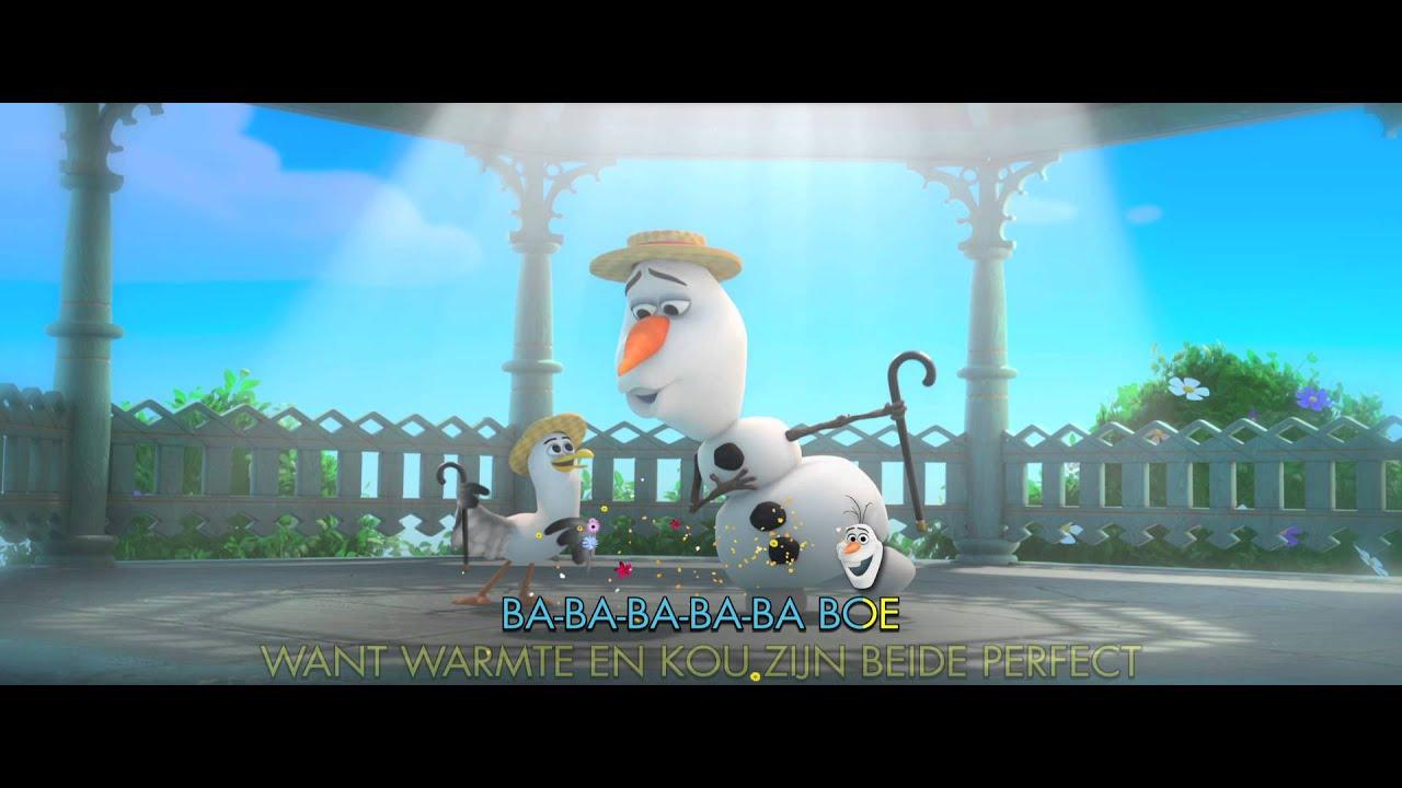 Frozen De Zomer Song Sing A Long Karaoke Versie Met