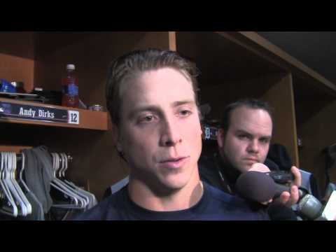 Andy Dirks Tigers LF postgame v s  Kansas City 9   26   2012