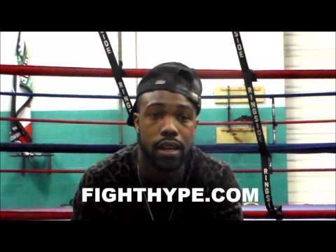 GARY RUSSELL JR. FINE WITH PACE OF CAREER; SAYS ULTIMATE GOAL IS FINANCIAL STABILITY