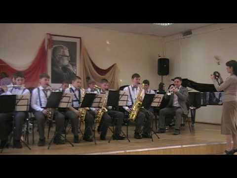 """Детский эстрадный оркестр """" C-jazz"""" """"Канзас сити"""" ДШИ станицы Тбилисской"""