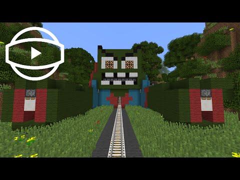 Minecraft 360° Video Roller Coaster: Longest Roller Coaster EVER?!?