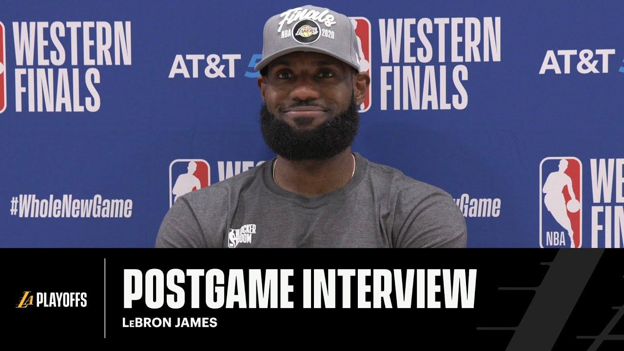 Lakers Postgame: LeBron James (9/26/20)