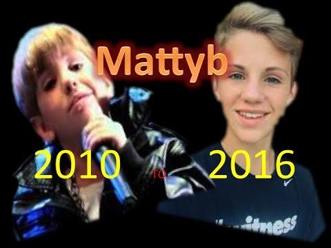 Mattyb video 2010 to 2016