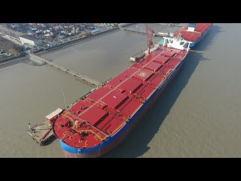 World's Largest Second-generation Ore Carrier Delivered in ...