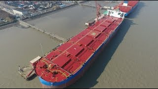 World's Largest Second-generation Ore Carrier Delivered in Shanghai