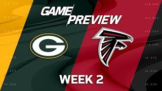 Green Bay Packers vs. Atlanta Falcons | Week 2 Game Preview | Move the Sticks