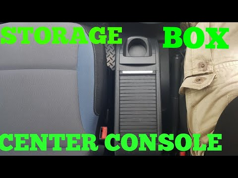 HOW TO INSTALL CENTER CONSOLE STORAGE BOX IN PEUGEOT PARTNER
