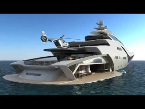 World's Top  Luxury Yachts ,Luxury Mediterranean Super-yacht Cruise