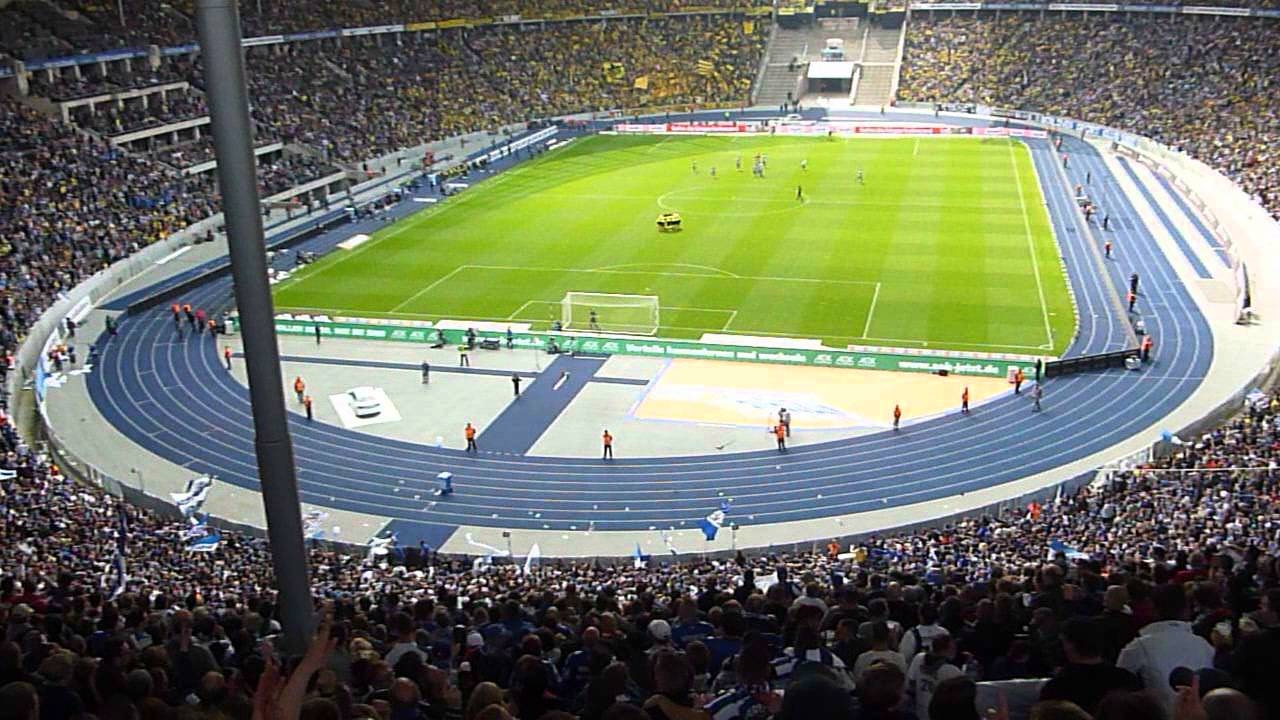 hertha berlin borussia dortmund olympia stadion part 3 youtube. Black Bedroom Furniture Sets. Home Design Ideas