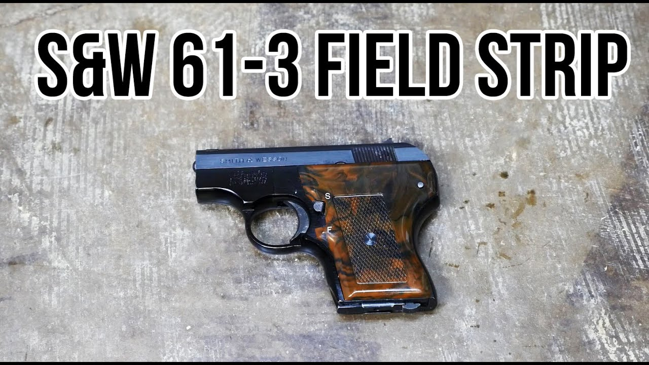 How to Field Strip a Smith & Wesson Model 59