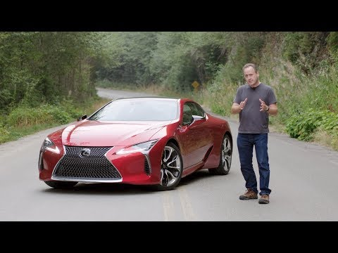 2018 Lexus LC500 V8 Coupe Reviewed