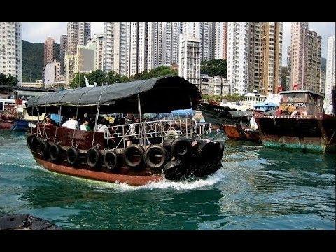 Hong Kong's Aberdeen Harbour