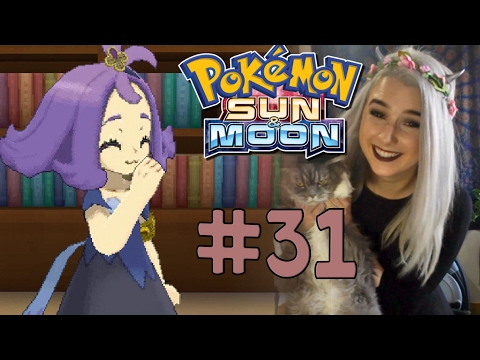 Let's Play Pokémon Sun & Moon #31: Books n' Babes (1080p gameplay w/Face Cam)