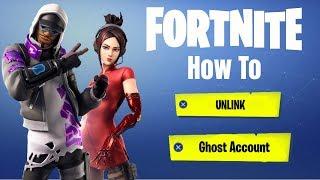 How to Unlink Ghost Account Fortnite (Season 10 Update)