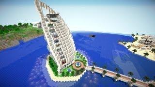 Minecraft / Top 5 des plus beaux hôtels