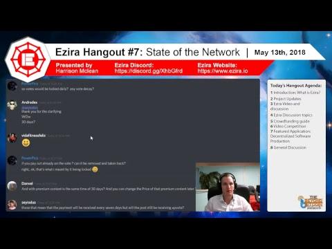 Ezira Hangout #7 Livestream