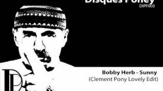 Bobby Hebb - Sunny (Clement Pony Lovely Edit)