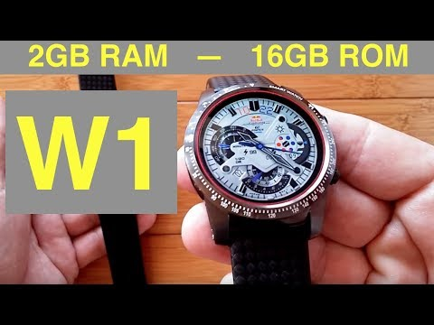 AllCall W1 Android 5.1 2GBRAM/16GBROM Smartwatch with BLUETOOTH CALLING: Unboxing and Review