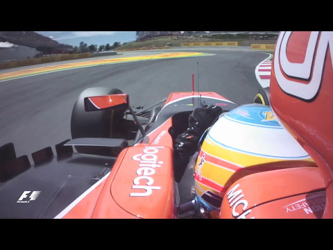 2017 Spanish Grand Prix: Fernando Alonsos Q3 Lap