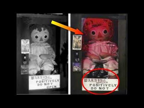 haunted annabelle एन ब