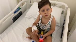 Yusuf çok hasta oldu doktor serum taktı👩🏻⚕️🤒 Çok ağladı ama iyileşti😍