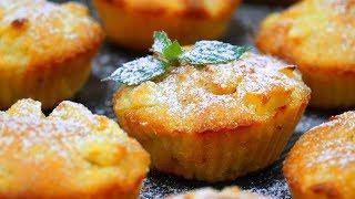 Проще простого! Нежные медово-яблочные кексы | Кулинарим с Таней