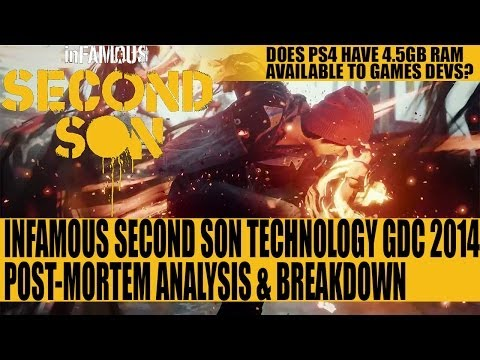 Infamous Second Son - Engine Post-Mortem Analysis & Breakdown - Part 1