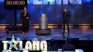 Christian Wedoy riskerar livet i Talang 2017 - Talang (TV4)