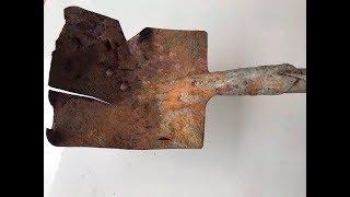 Antique shovel restoration | Restoration shovel old | Restor...