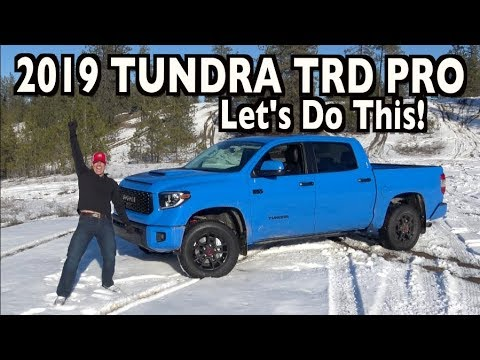 Snowy Off-Road Test: 2019 Toyota Tundra TRD Pro on Everyman Driver