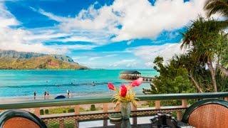 Video Hanalei Bay Beachfront - Kauai, Hawaii - Kauai Real Estate download MP3, 3GP, MP4, WEBM, AVI, FLV Juni 2018