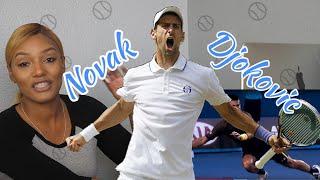 New Sports Fan Reacts to Novak Djokovic Tennis Highlights