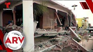 Puerto Rico despertó con fuerte terremoto de 6.4 grados | Al Rojo Vivo | Telemundo