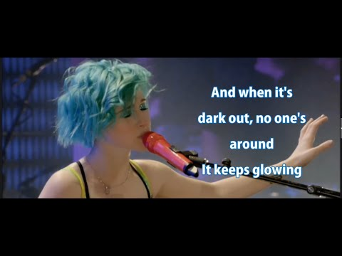 Paramore - Last Hope Lyrics video karaoke