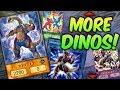 NEW DINOSAURS! Dino-Wrestlers Updated! vs Assault Mode! (Yugioh TCG)